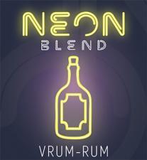 Neon VRUM-RUM, бестабачная смесь для кальяна, 50г