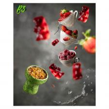B3 Red gummy bear - сочные мармеладные мишки, , 50г