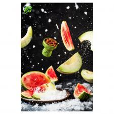 B3 Watermelon halls - ледяной арбуз и дыня, , 50г
